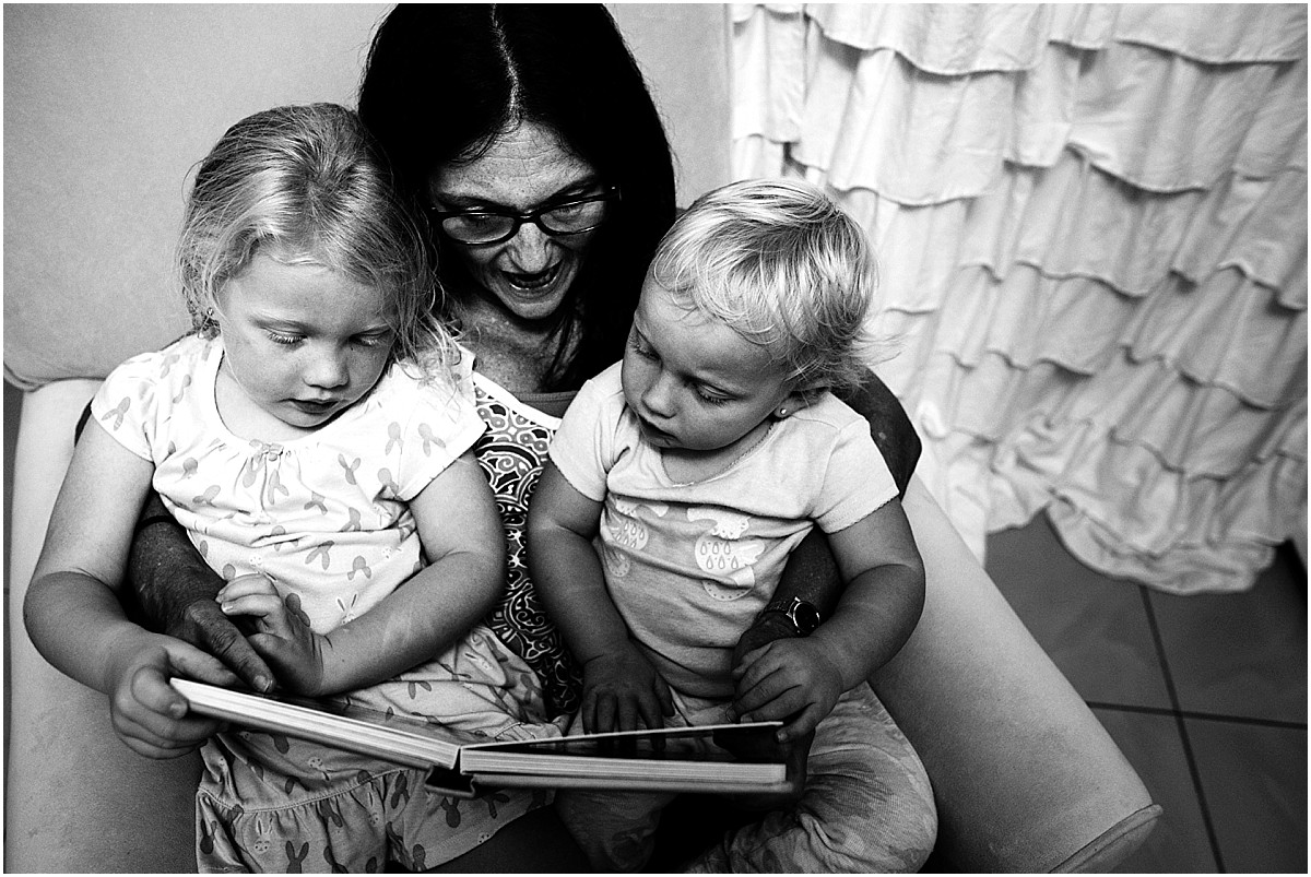 No Grammy visit is complete without bedtime stories. We've missed her a lot!