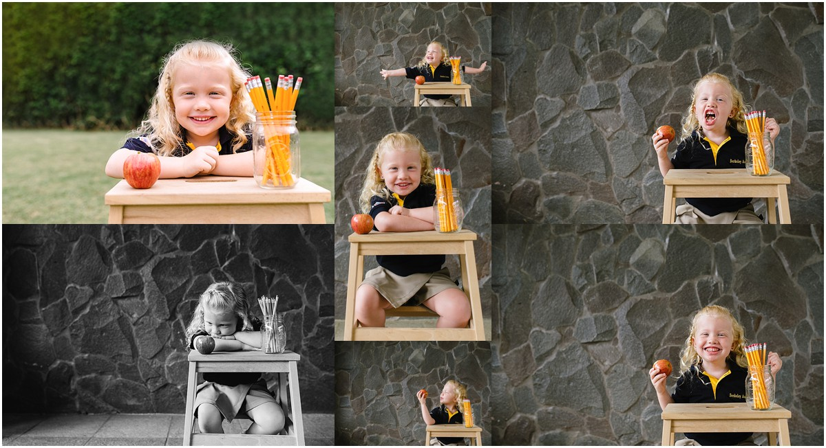 Disclaimer: I generally dislike taking these posed images with props. I just don't think it's my forte and I prefer a more natural approach to images.But, there is something about this setup that I can tolerate -- especially when Maddie actually cooperates for photos. As you can see, the cooperation didn't last as long as I would have liked, but at least I got a few keepers.
