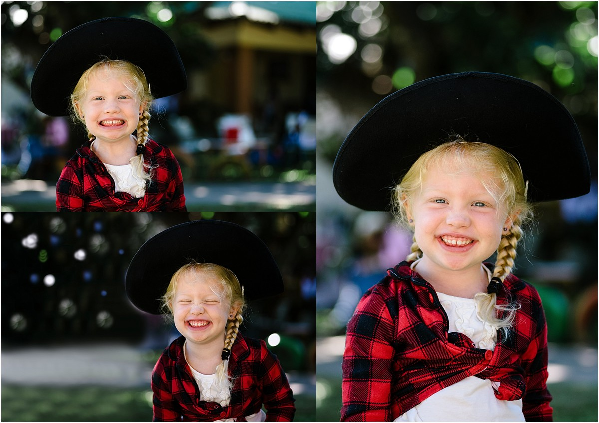 Another HUGE milestone happened a few weeks ago. Maddie had her last day at Discovery. We LOVED that school, but this big girl graduated. They had a sweet Mother's Day celebration (we celebrate Mother's Day in Costa Rica in August), and it happened to take place on her last day. That is the reason for the cowgirl outfit. We don't always dress like this :).