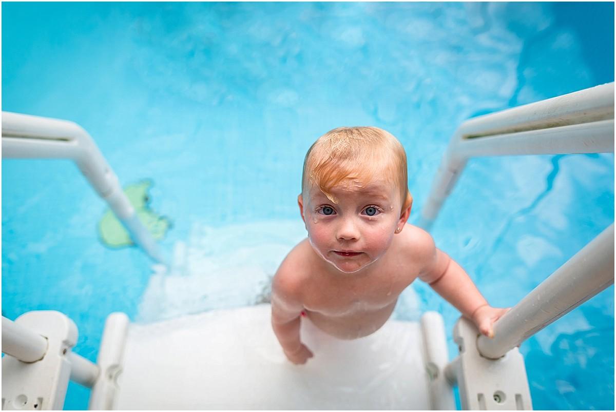 Infant Acquatics swimming lessons in Escazu, Costa Rica