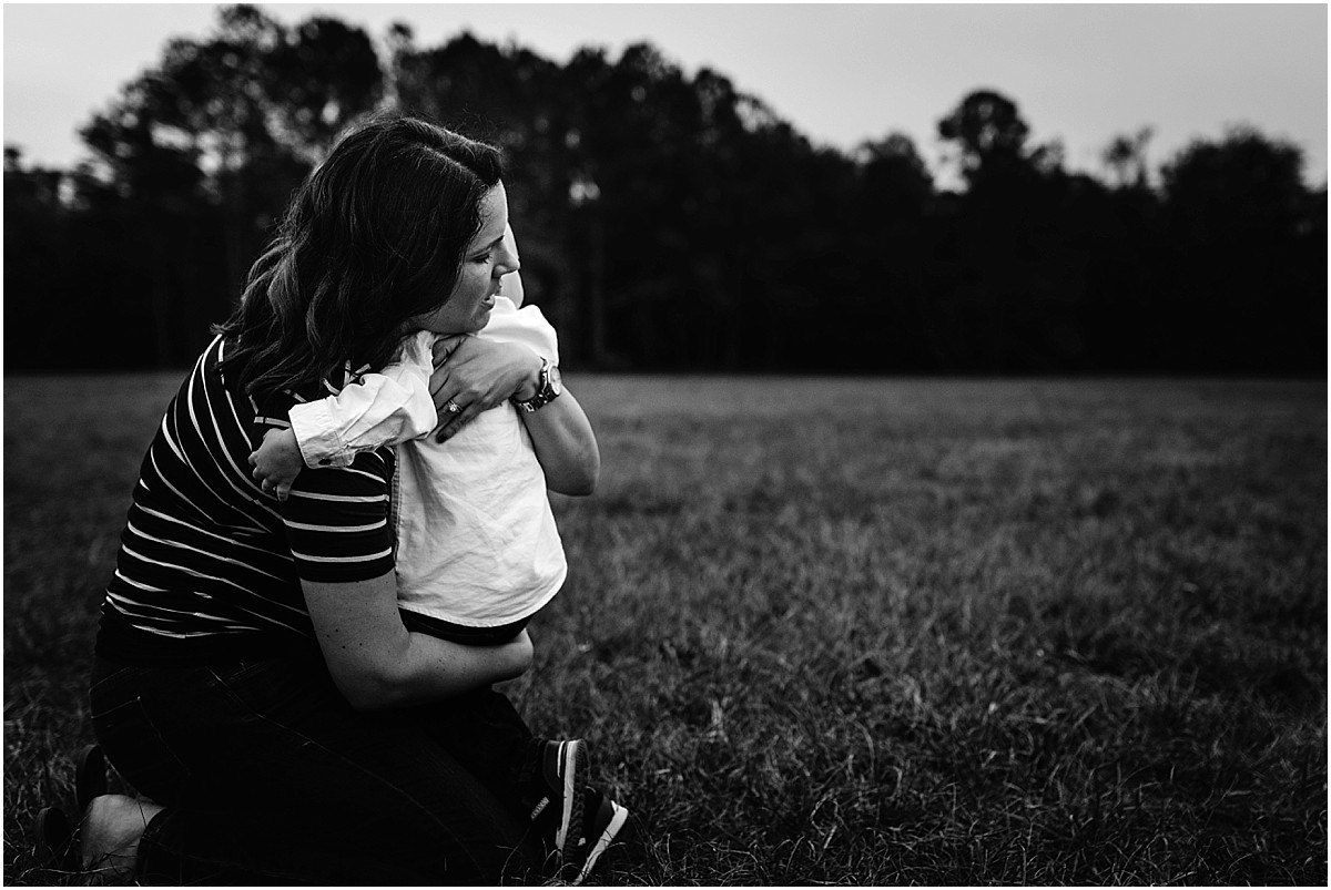Mom hugging her son  | Central Florida Family Photographer