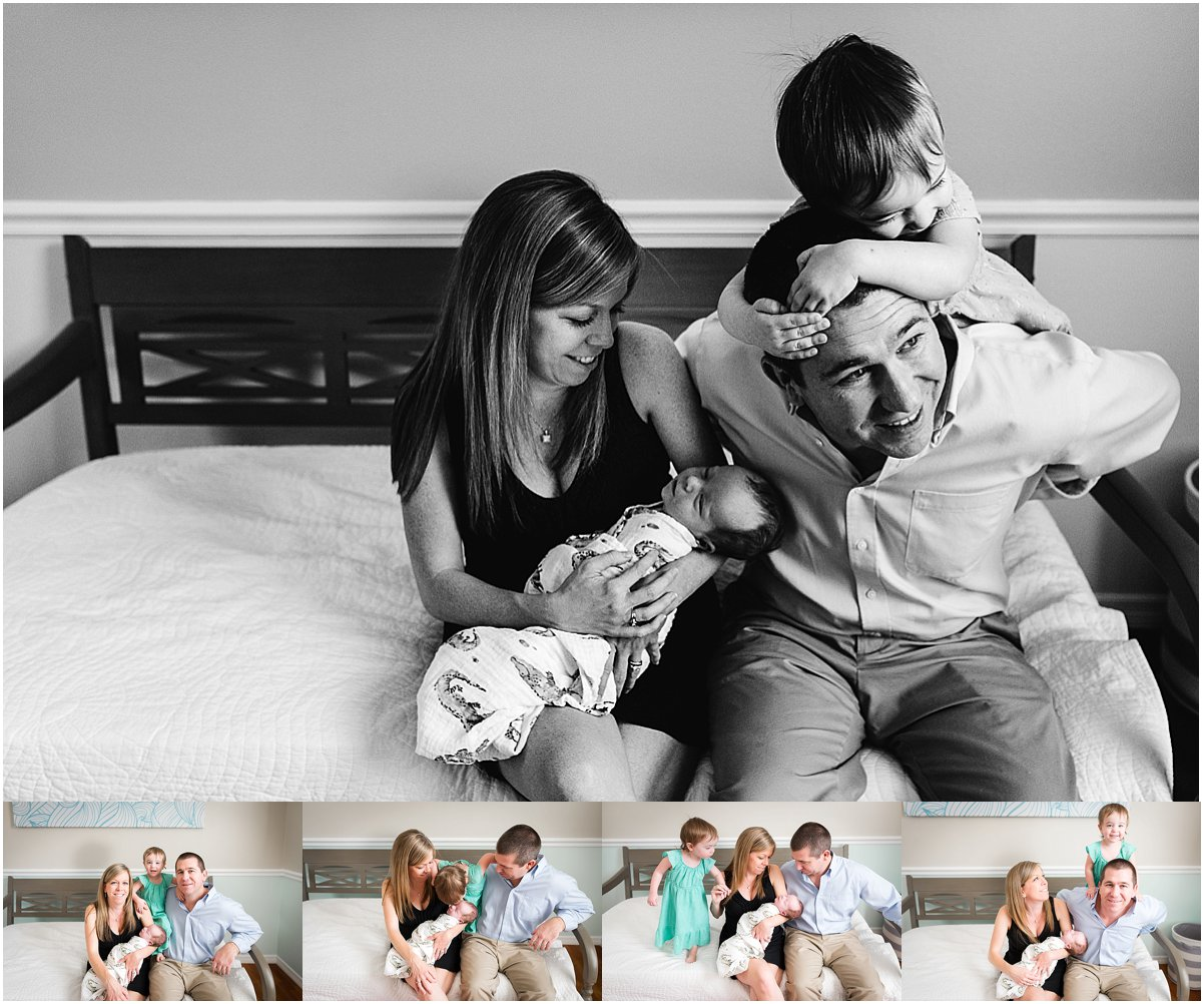 In-home lifestyle newborn session | orlando family photographer