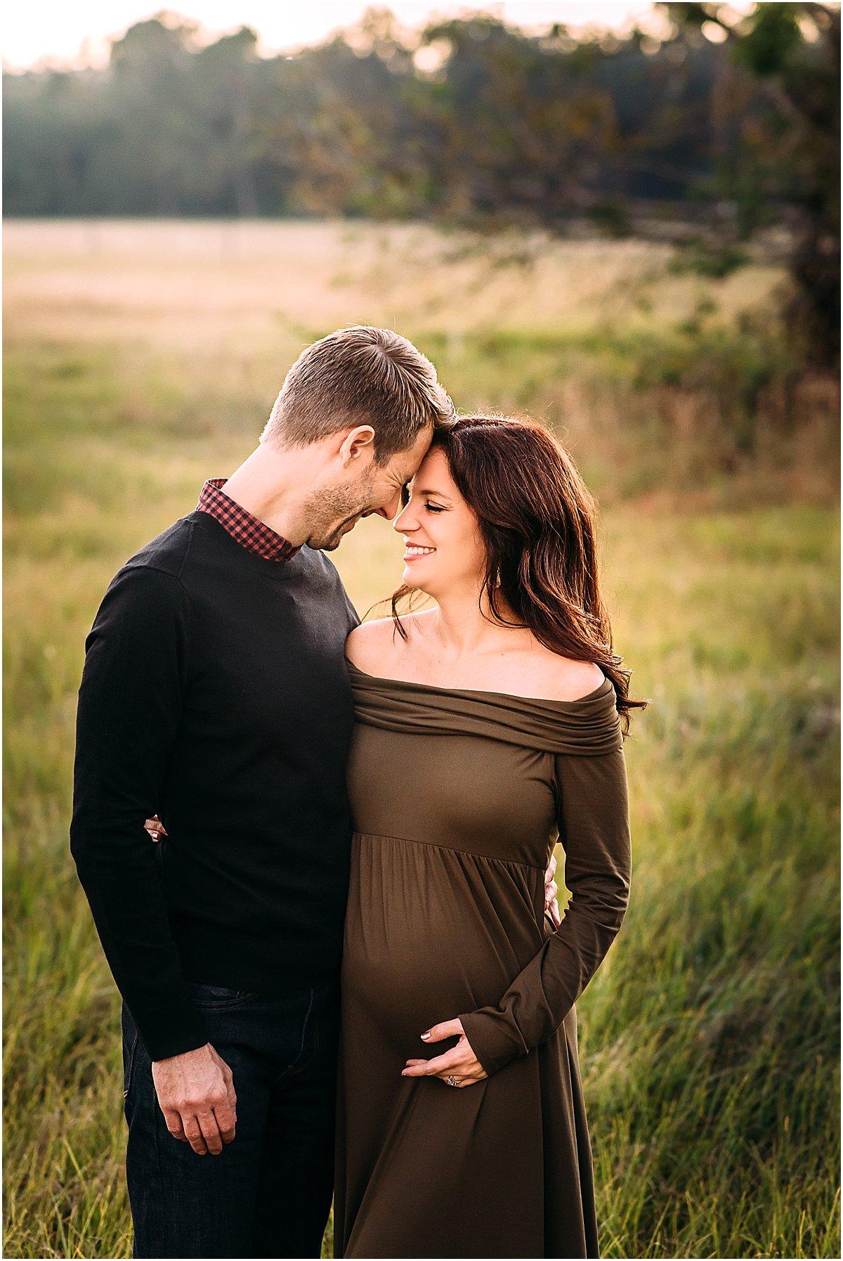 stunning couple maternity photos | Central Florida Family Photographer