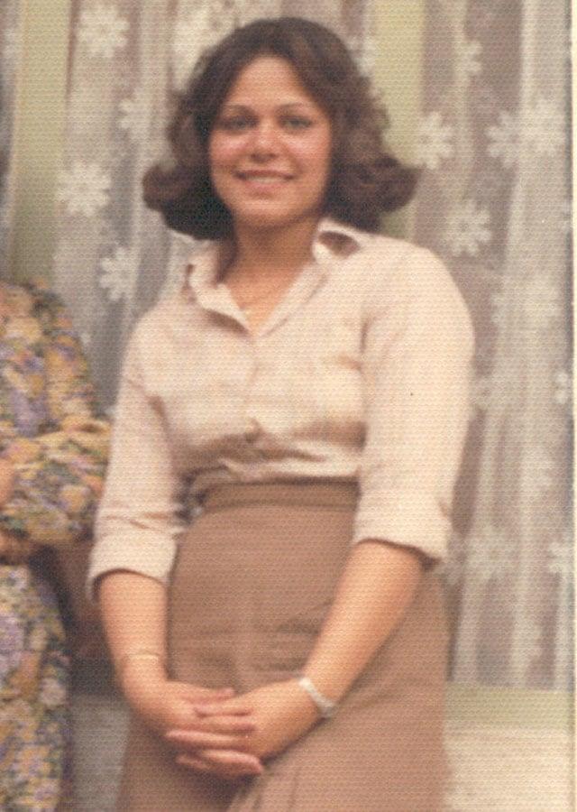 Mona's sister, Taraneh, circa 1980/81
