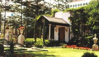 The final resting place of Bahá'u'lláh, Prophet-Founder of the Bahá'í Faith at Bahji, near Akka, Israel.