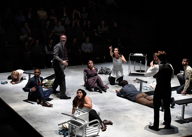 """PlayMakers Repertory Company's 2016 Production of """"The Crucible"""" by Arthur Miller"""