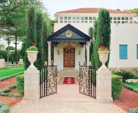 The Shrine of Bahá'u'lláh in Bahji, as it is today
