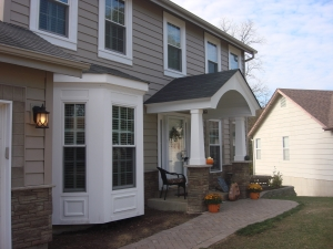 stone and brick siding in St. Louis
