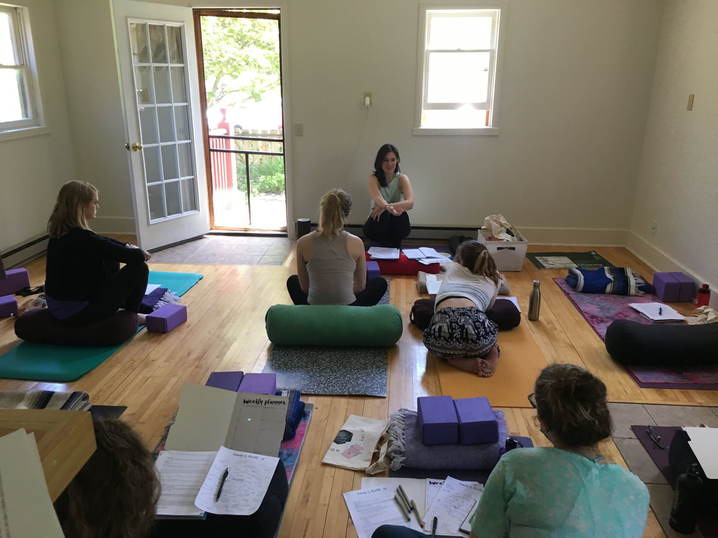 Honey & Thistle Co. Yoga + Goals Retreat, June 2019
