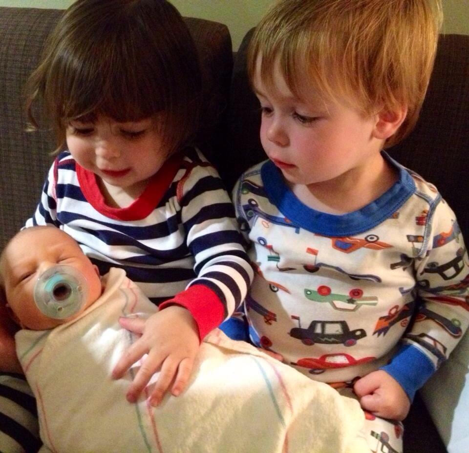 Brayden meets Ella & Ethan