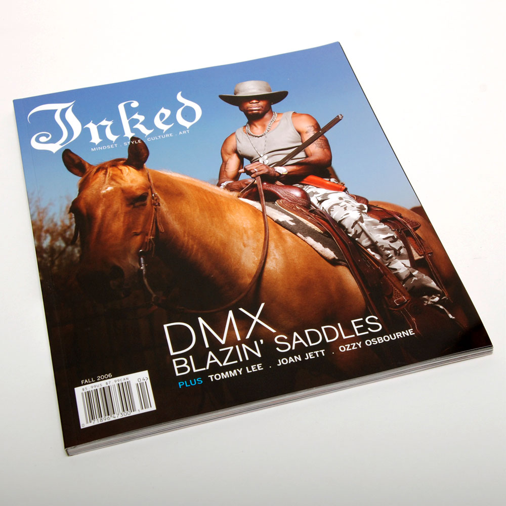 Inked Magazine Issue 4 - ART DIRECTION + DESIGN