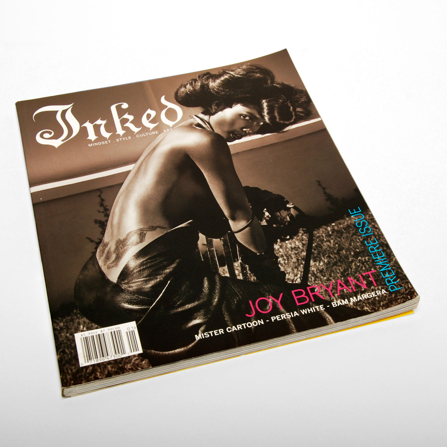 Inked Magazine Issue 1 - ART DIRECTION + DESIGN