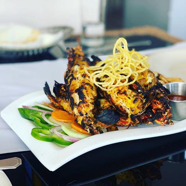 Tandoori Lobster (by special request) . . . . #zanzibar #zanzibarisland #destinationzanzibar #tourzanzibar #zanzibarfood #silkrouteznz  #thesilkroute #stonetown #hakunamatata #indianfood #india  #spicetrade #spiceroute #foodblog #marketfresh #instatraveling #instafood #traveltoeat #travel #explore #foodie #tanzania #safari #beach #vegan #foodstagram #foodlovers #dessert #foodstyling #zanzibarfood