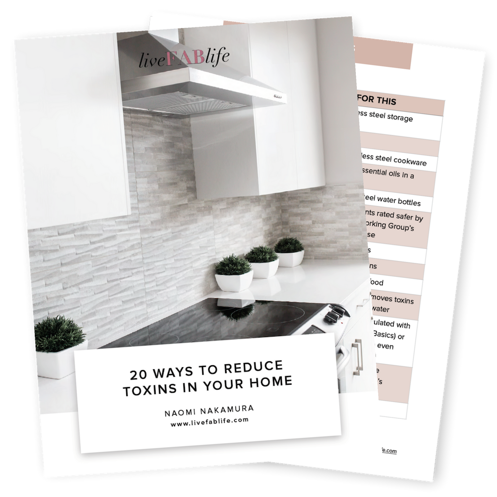 20 Ways to Reduce Toxins in Your Home