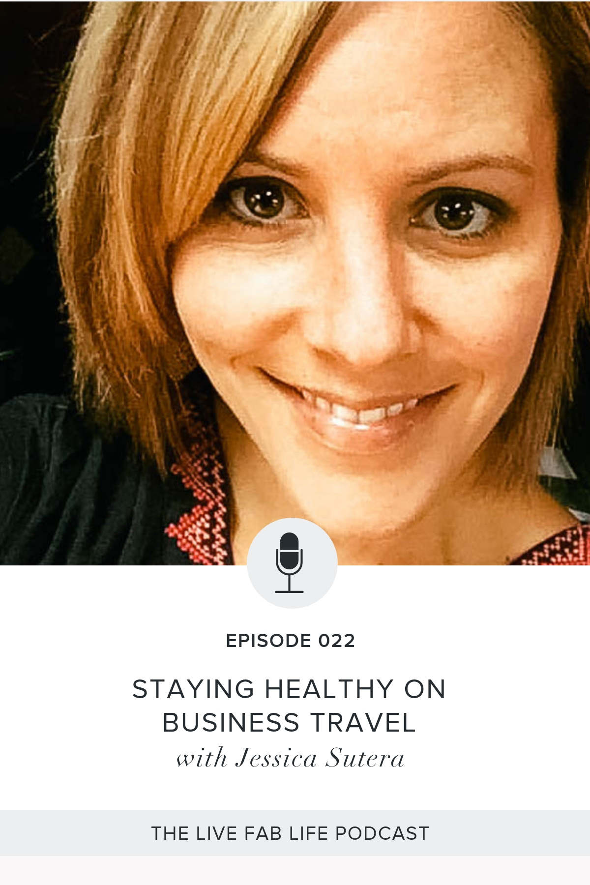 Episode 022: Staying Healthy On Business Travel with Jessica Sutera