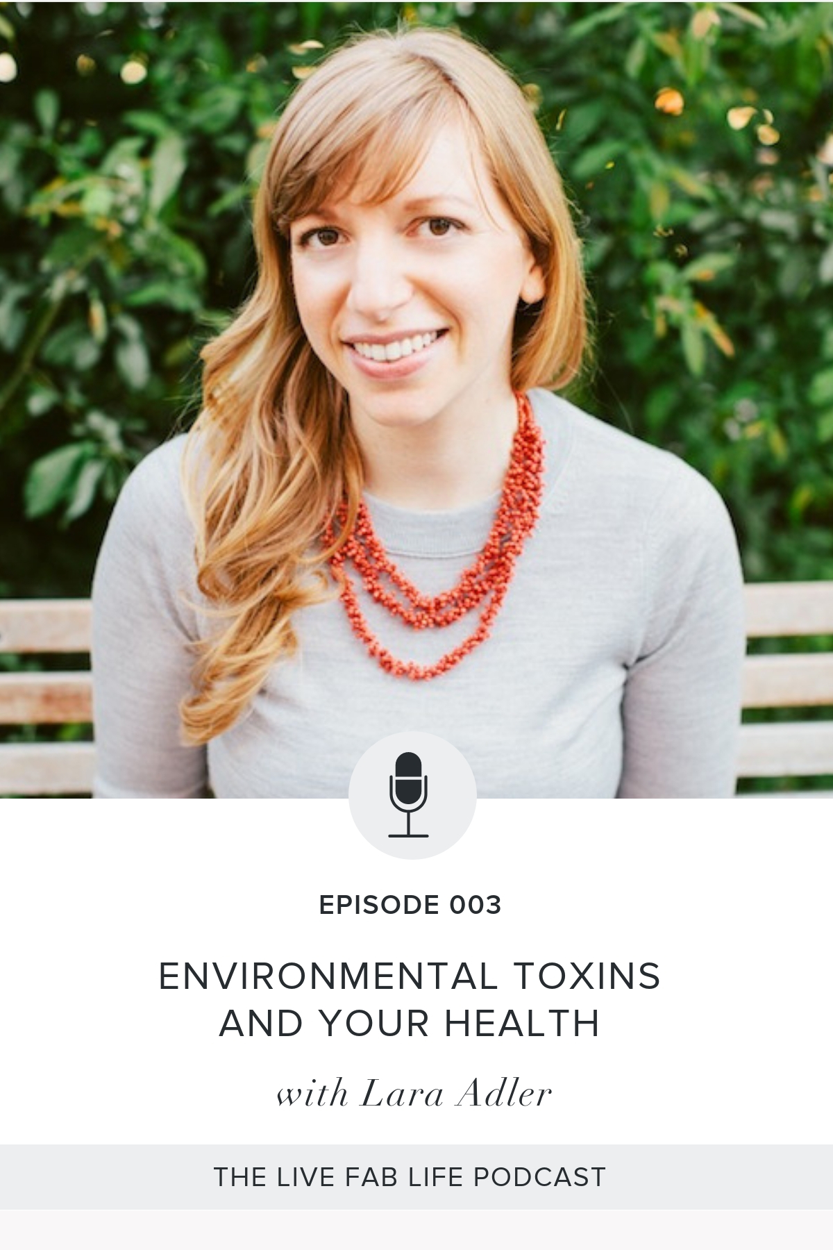 Episode 003: Environmental Toxins and Your Health with Lara Adler