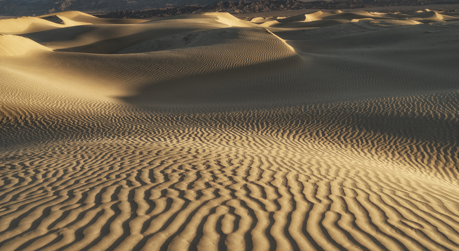 Mesquite Flat Sand Dunes, Death Valley NP, California