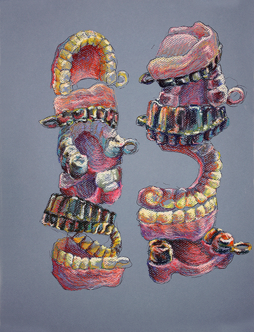 Untitled (Teeth Tower)