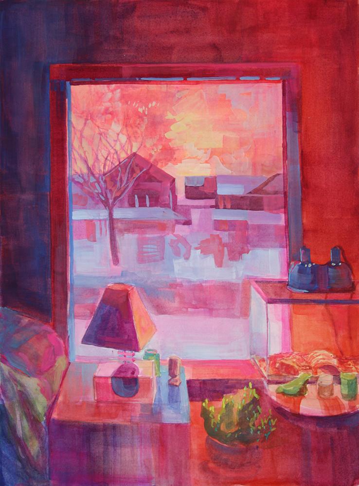 Bedroom (Pink)