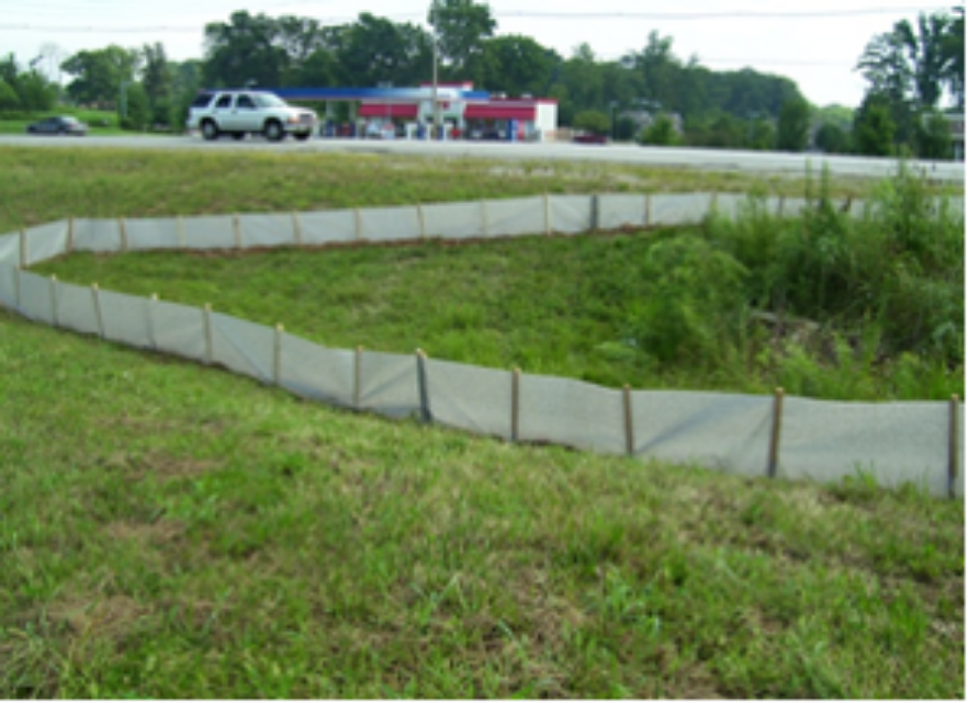 Conventional wisdom has installers using too many stakes or t-posts to avoid problems above.