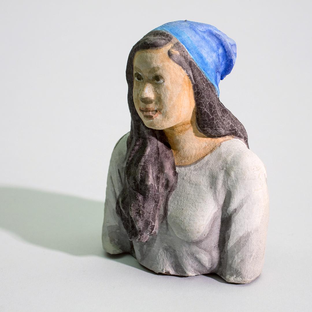 Girl in a Blue Hat