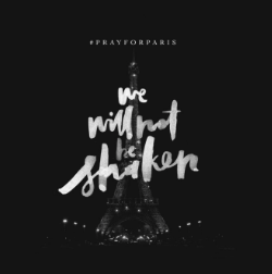 "@BethelMusic : ""We will not be shaken..."""