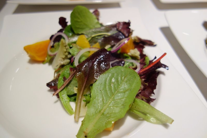 Mixed Greens, Pickled Romanesco, Golden Beets, Orange Segments, Red Onion