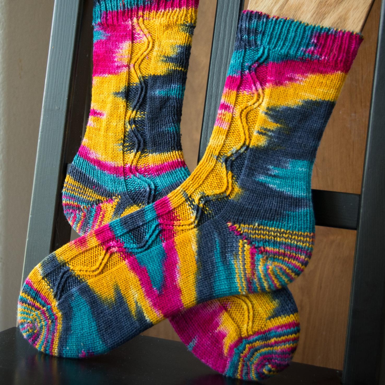 Ultimate ZigZagular Socks 2 by EmilyStraw