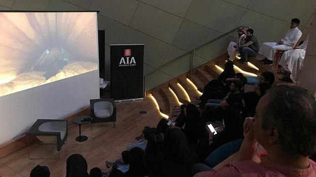 From our screening of Microtopia Directed by Jesper Wachtmeister screened at (ithra) King Abdulaziz Center for World Culture in Dhahran, Saudi Arabia on 26 June 2019.  #architect #architecture #aiame #microliving #home #house #design #building #construction