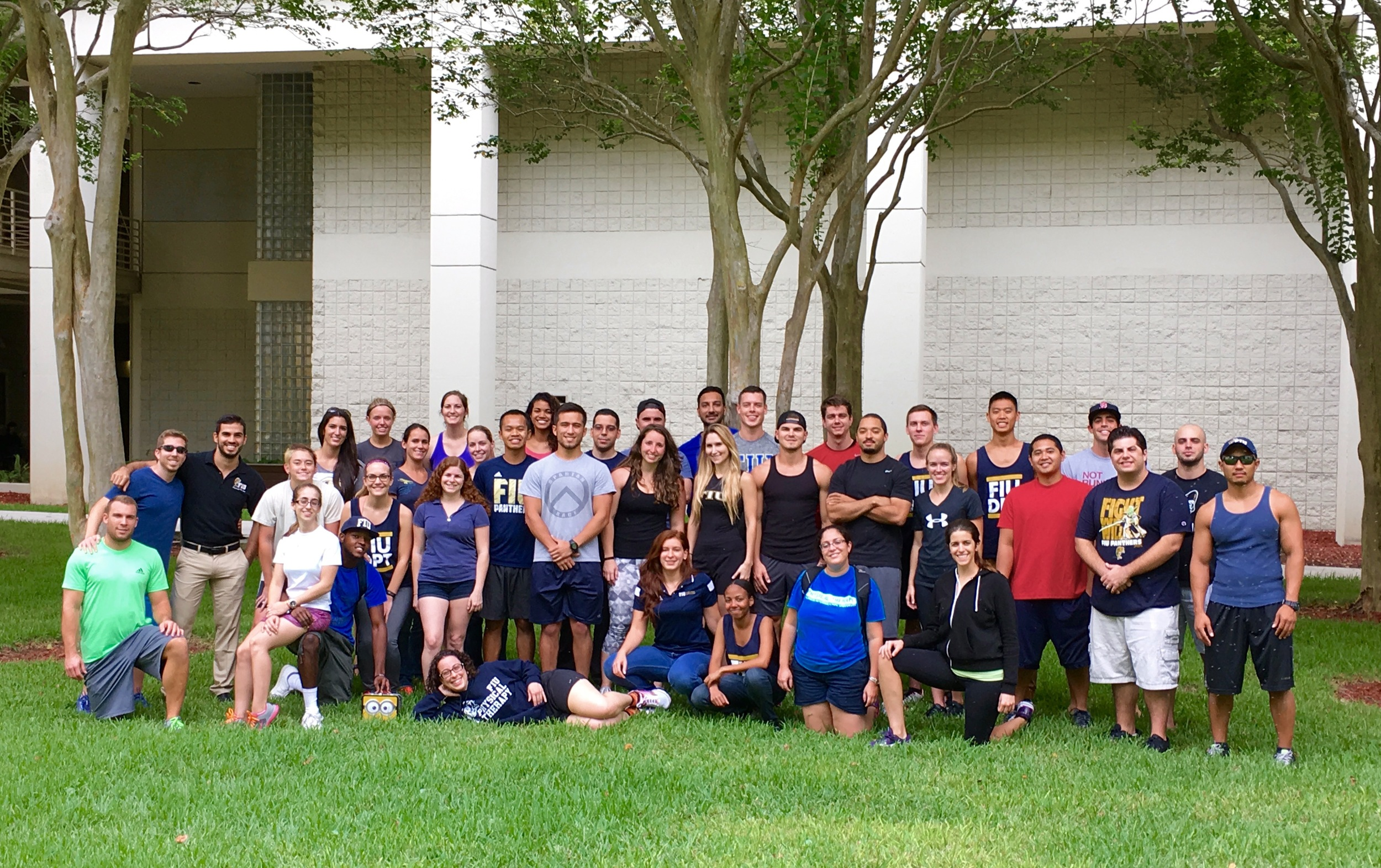 FIU DPT Students, Class of 2017