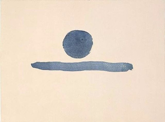 """""""You Are the Sun"""" by Georgia O'Keeffe, 1977 (via @thenewdenimproject)"""