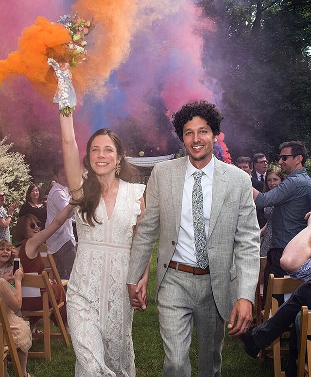 These last two weeks have been pure magic. From a colorful backyard garden party in NY to a traditional Yemeni wedding celebration in Tel Aviv, watching our friends and family merge into one big transcontinental amoeba of love and dancing and laughter and great meals and Mediterranean swims has been the greatest happiness I've ever known. Our hearts are so, so full. ❤️ (More photos to come!)