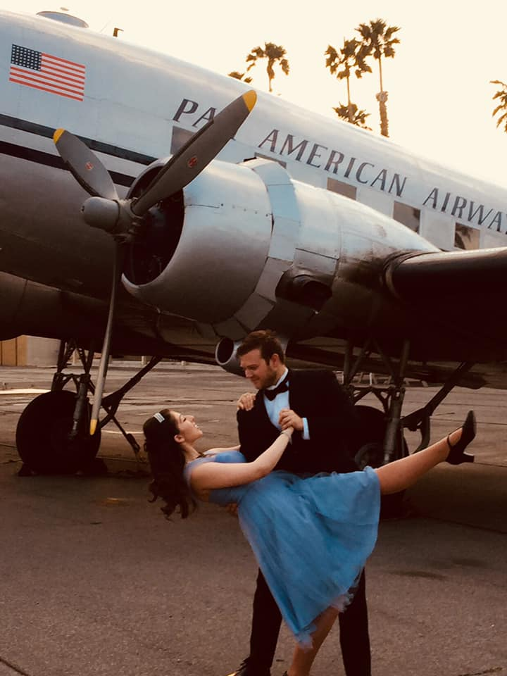 Romance and intrigue at The Little Airport that Time Forgot in Riverside!