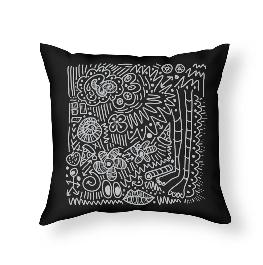 DOODLE THERAPY Pillow