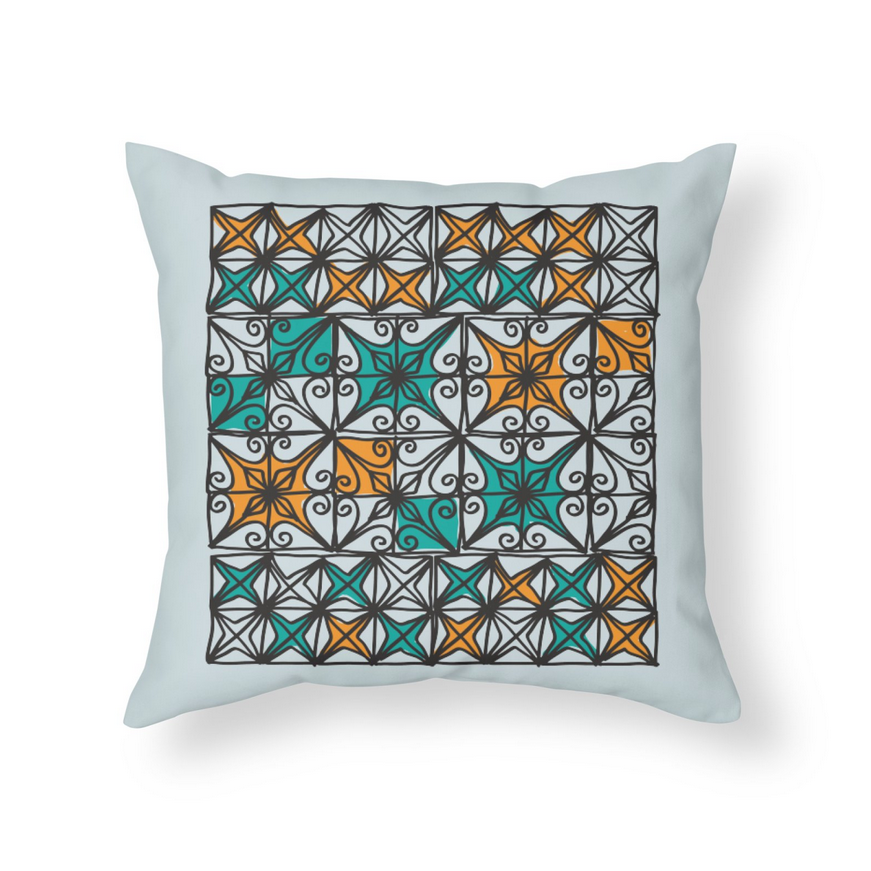 RINCON FENCES Pillow