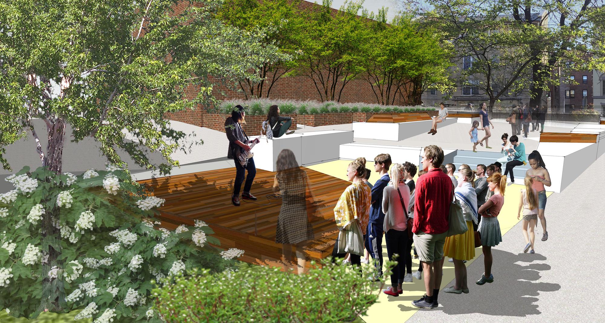 Amigos Park Schematic Plan