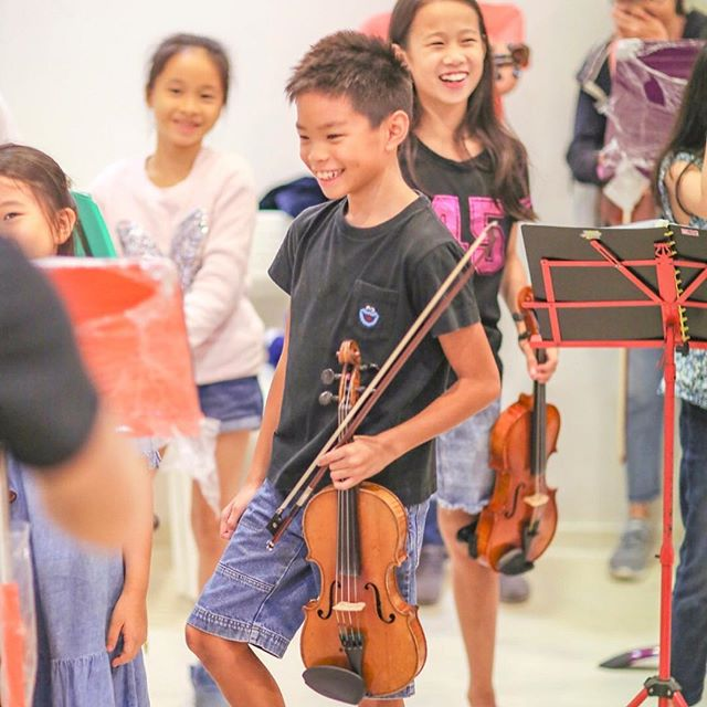These kids have been working hard! Catch them perform this Wednesday 7pm at the Esplanade Recital Studio . . . . #wolfgangviolin #violin #cello #igudesman #stringsoftheworld