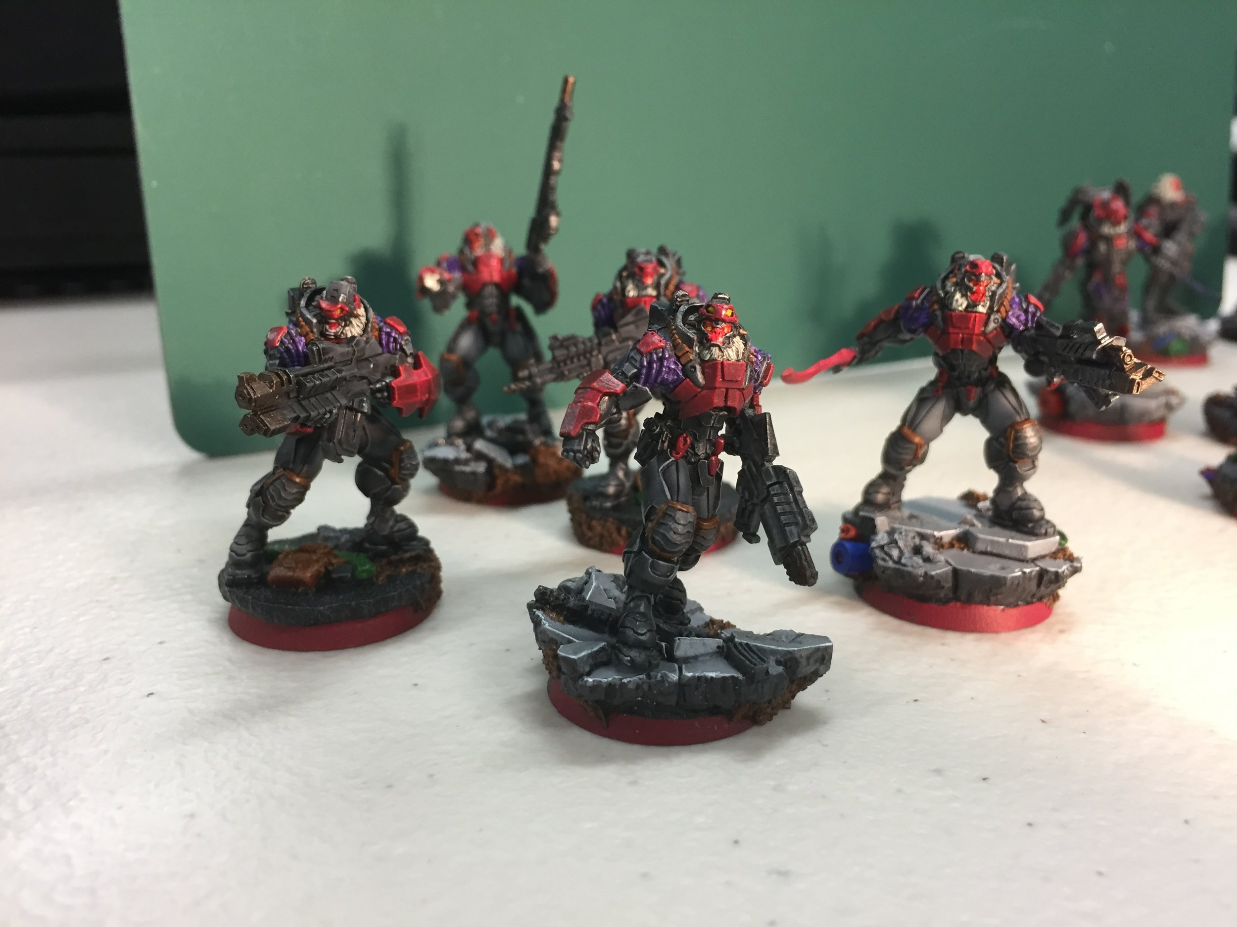 Some of Quinton's Combined force for Infinity...