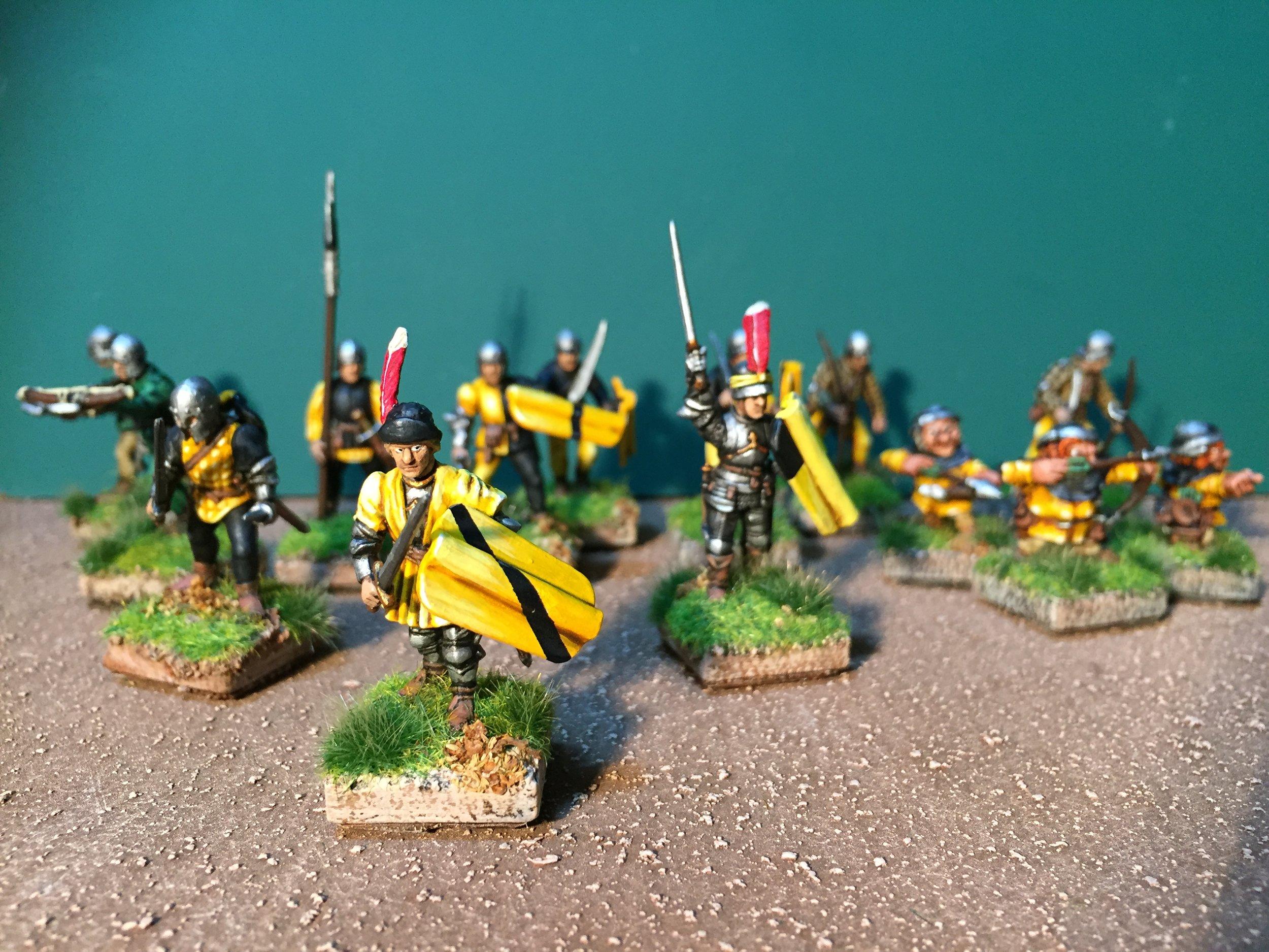 Giles' Averlander Warband for Mordheim