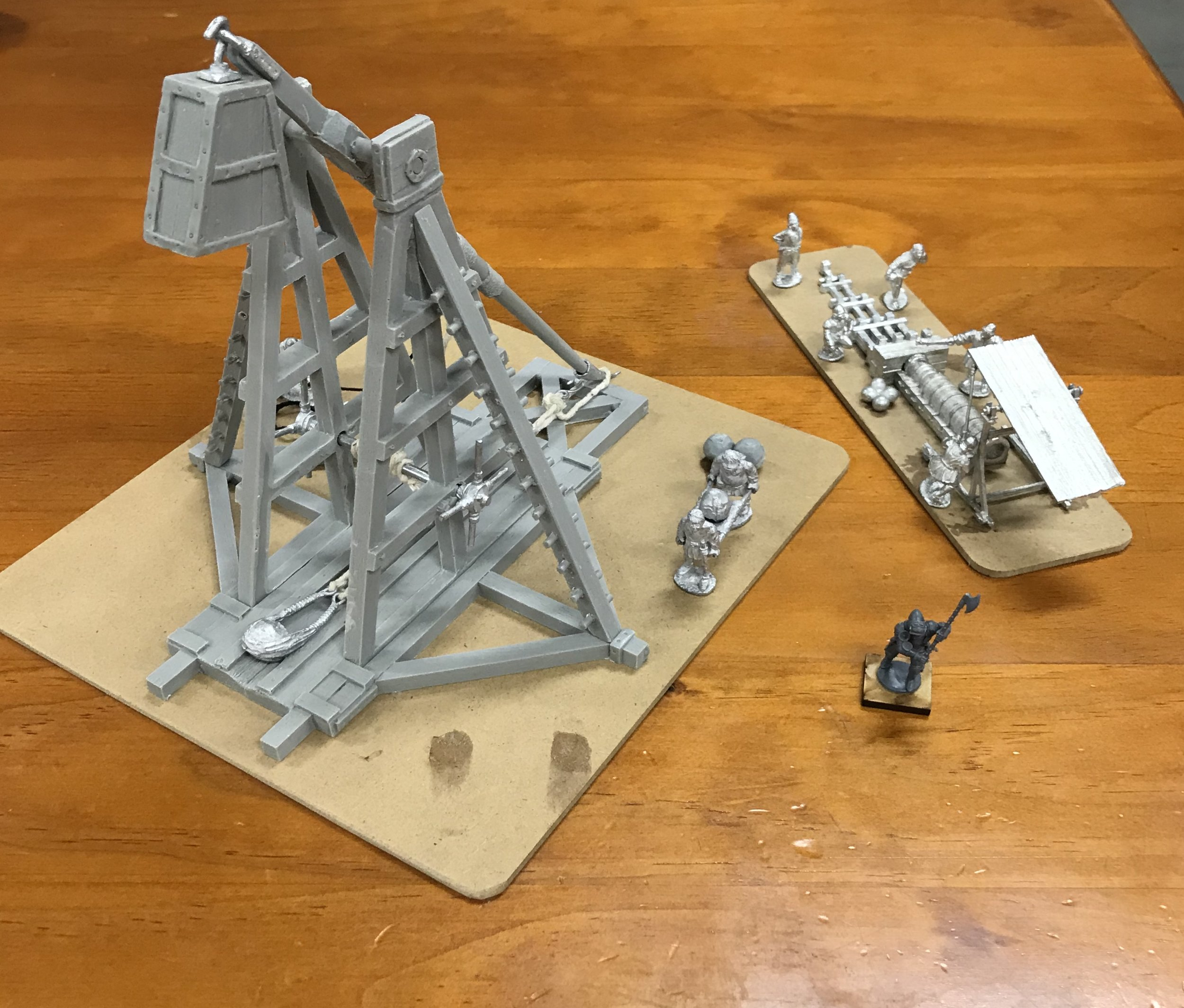 Gripping Beast Trebuchet and Perry Miniatures Bombard... so good!