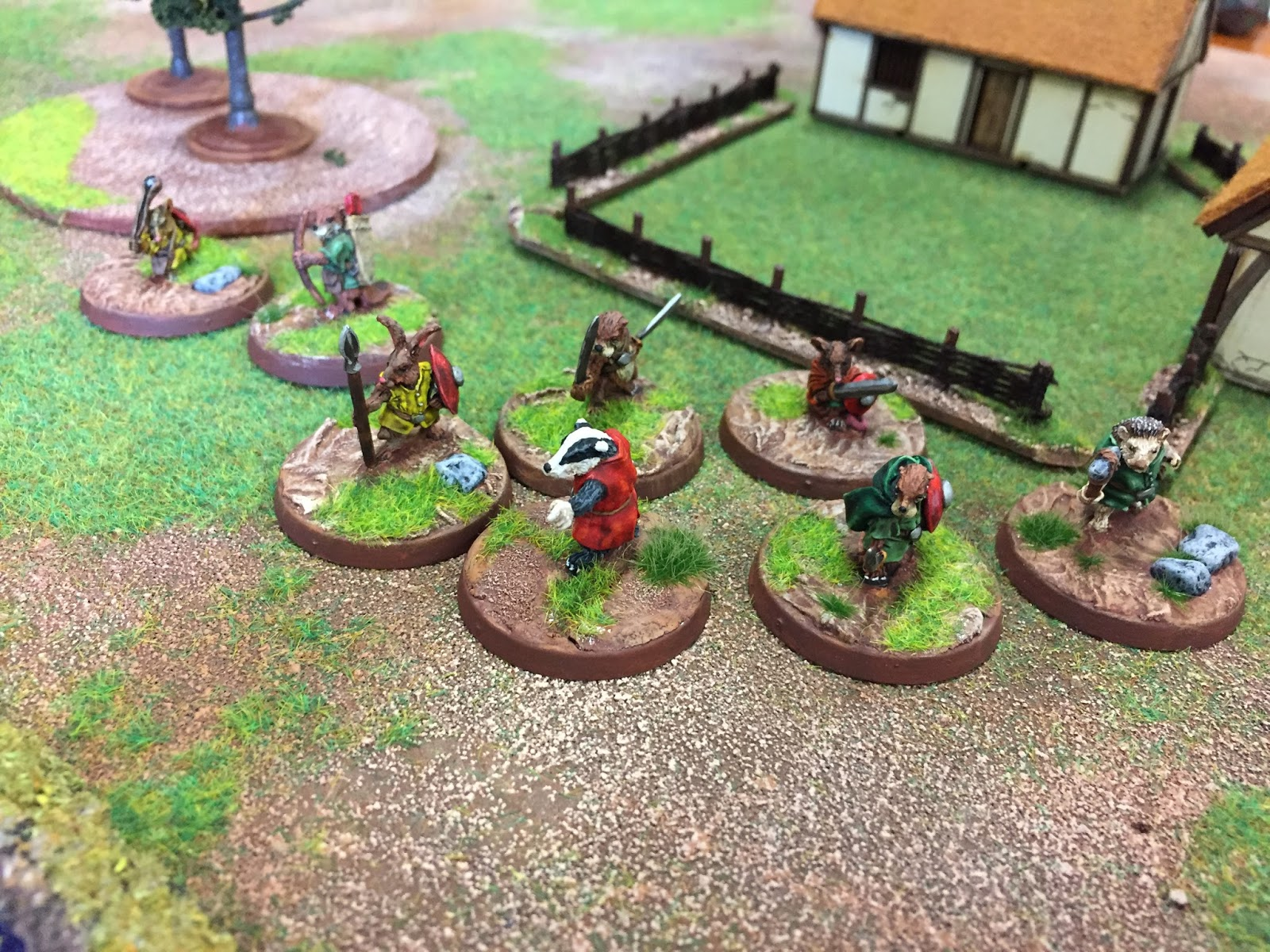 Song of Blades and Heroes with Splintered Light minis