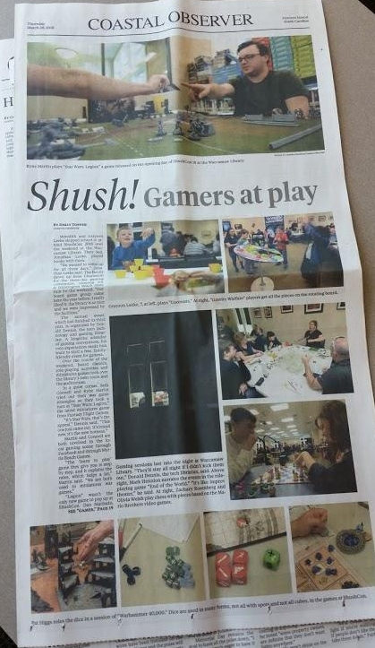 Great press for ShushCon!