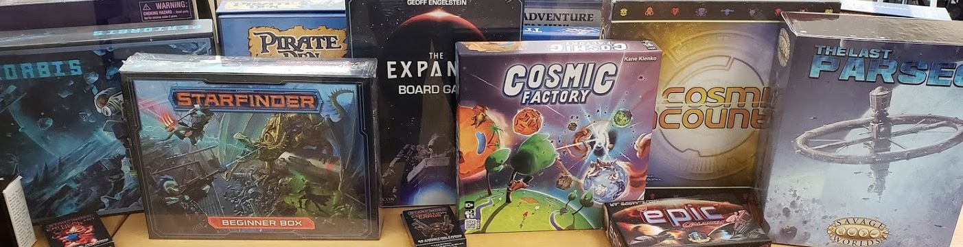 More Space Games. Space is big!