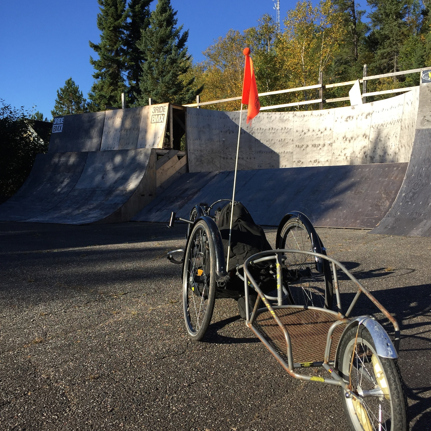 """Check out that sick Handcycle!"" said no BMX biker ever."