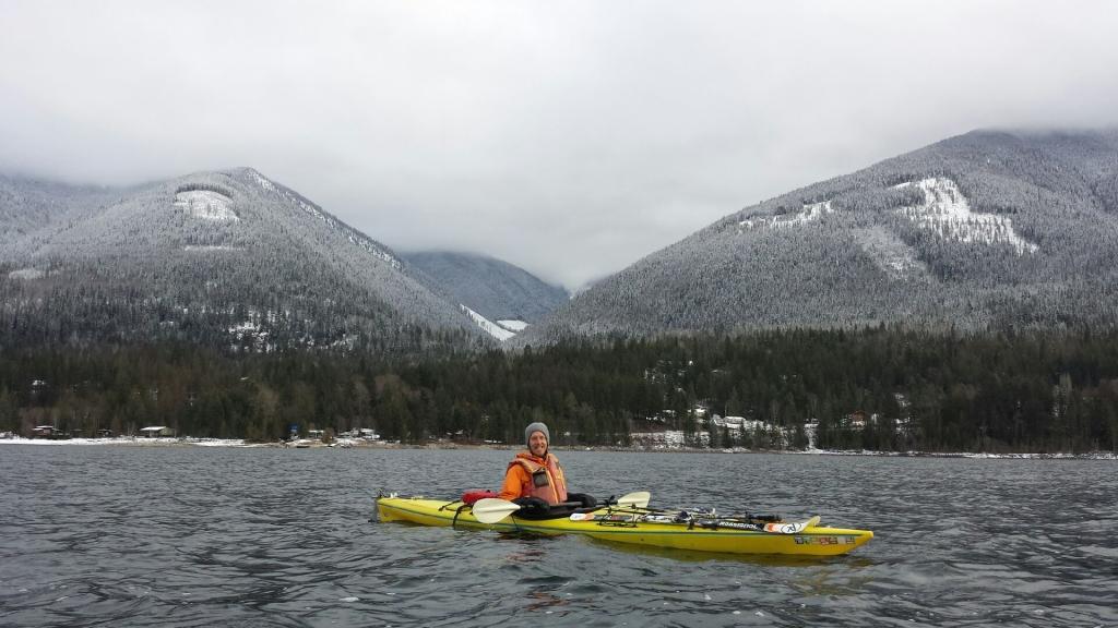 Kayaking Kootenay Lake, www.routesofchange.org.jpg