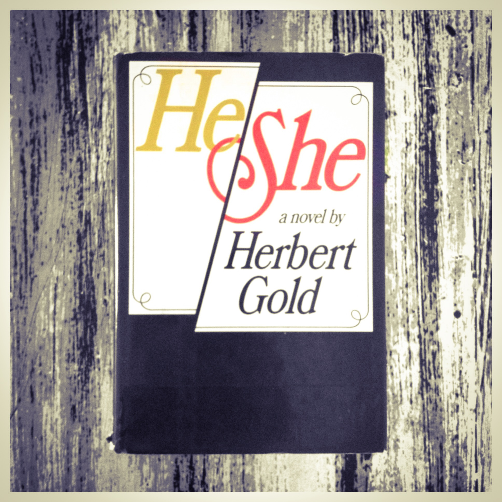 Herbert Gold - 1980 - HE SHE - Photo by Diana Phillips.JPG