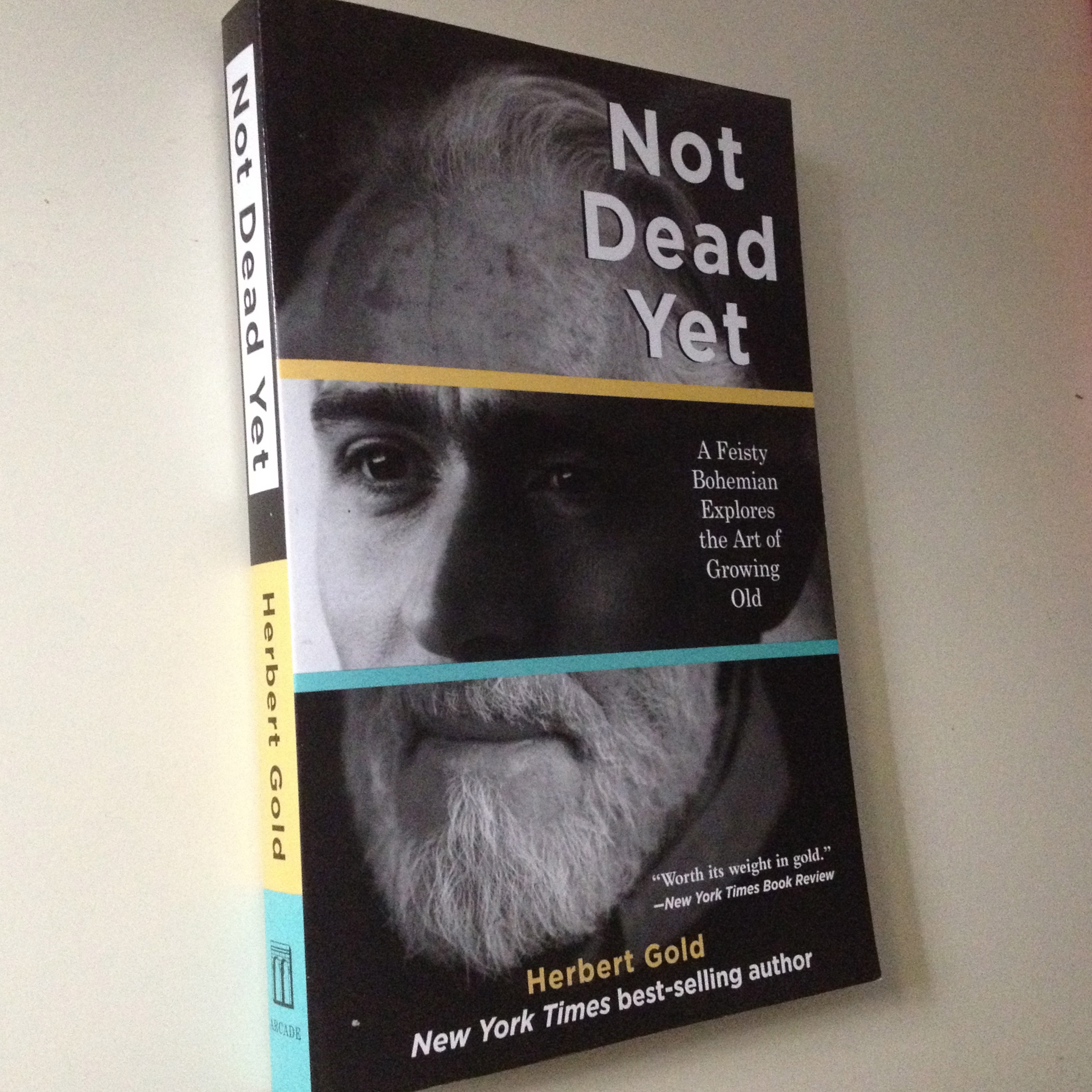 Not Dead Yet: A Feisty Bohemian Explores the Art of Growing Old - BUY NOW