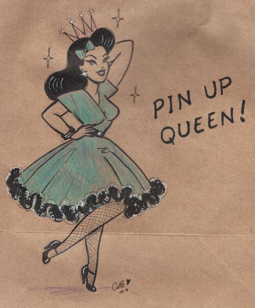 Pinup Queen (Paper Bag)