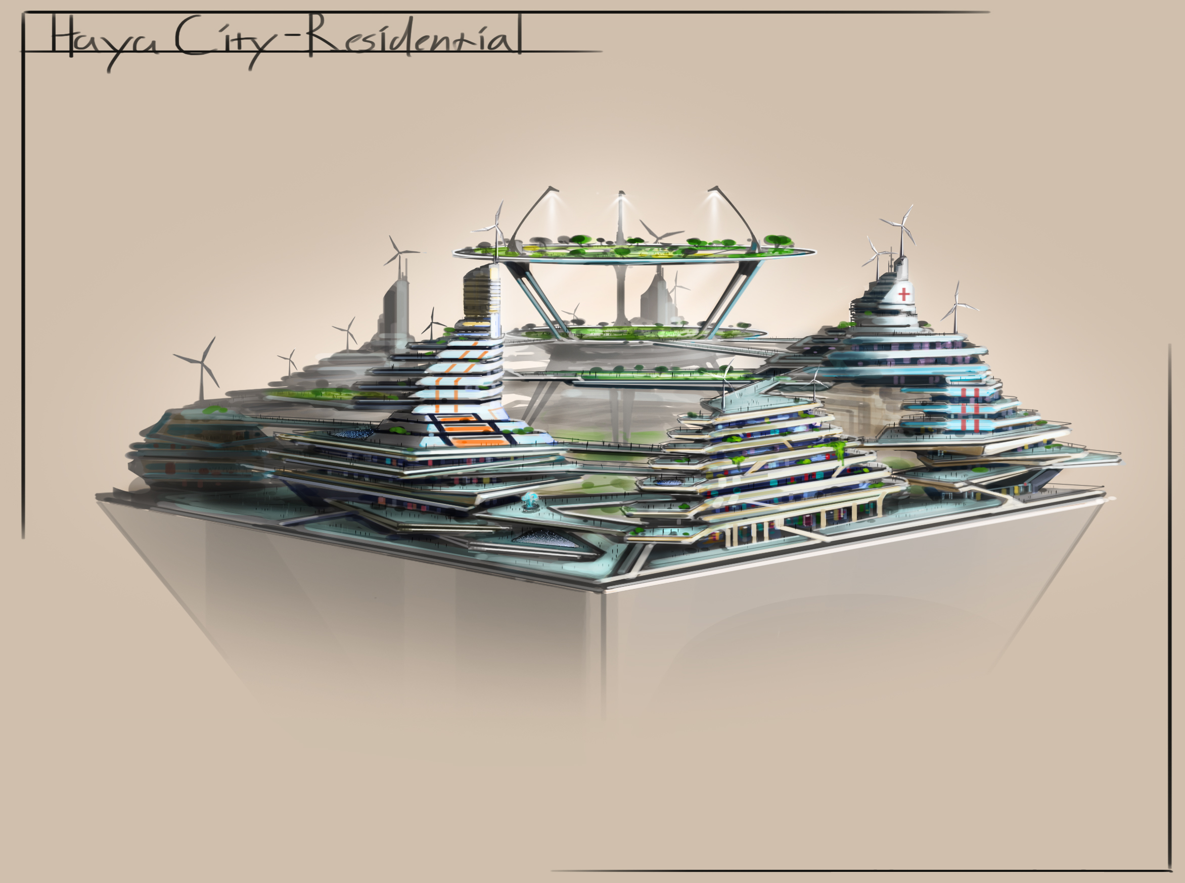 City Sketches - Residential Island Fifth Round Color.jpg