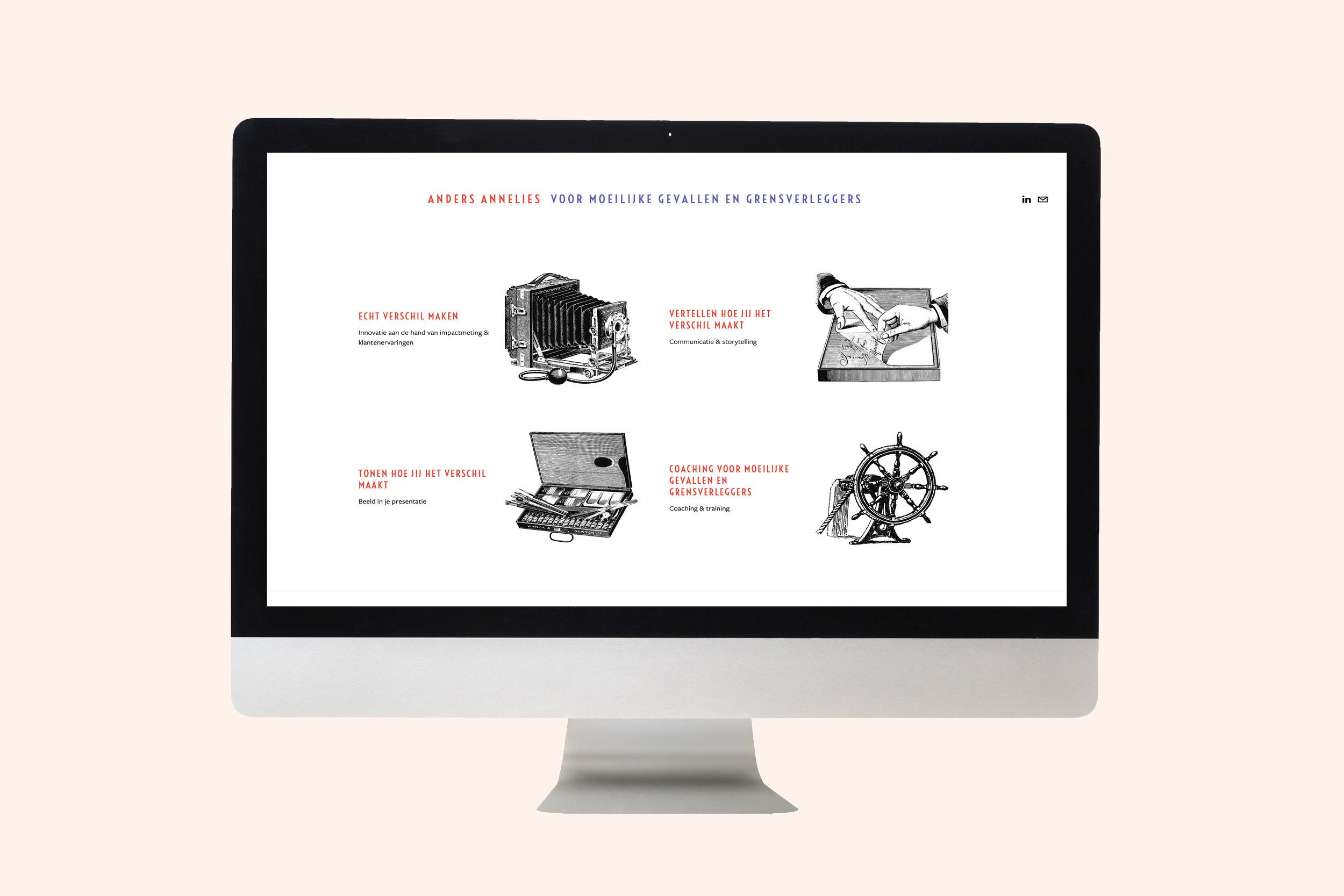 een website voor anders annelies